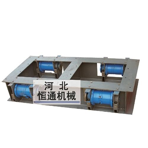 立井提升过放缓冲托罐装置